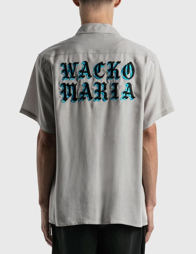 Wacko Maria 50's Shirt ( Type-4 ) Grey Men