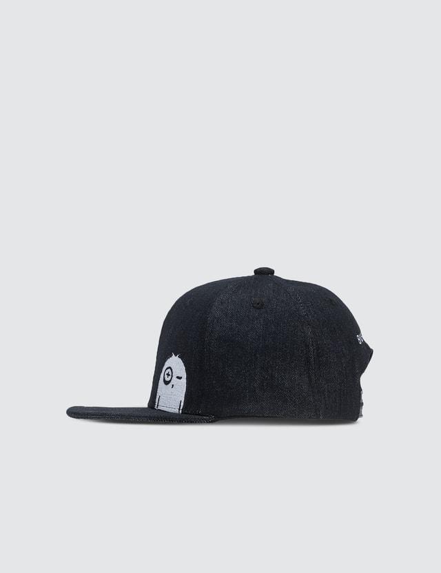 Bash+Sass Denim Snapback Cap (Kid Size)