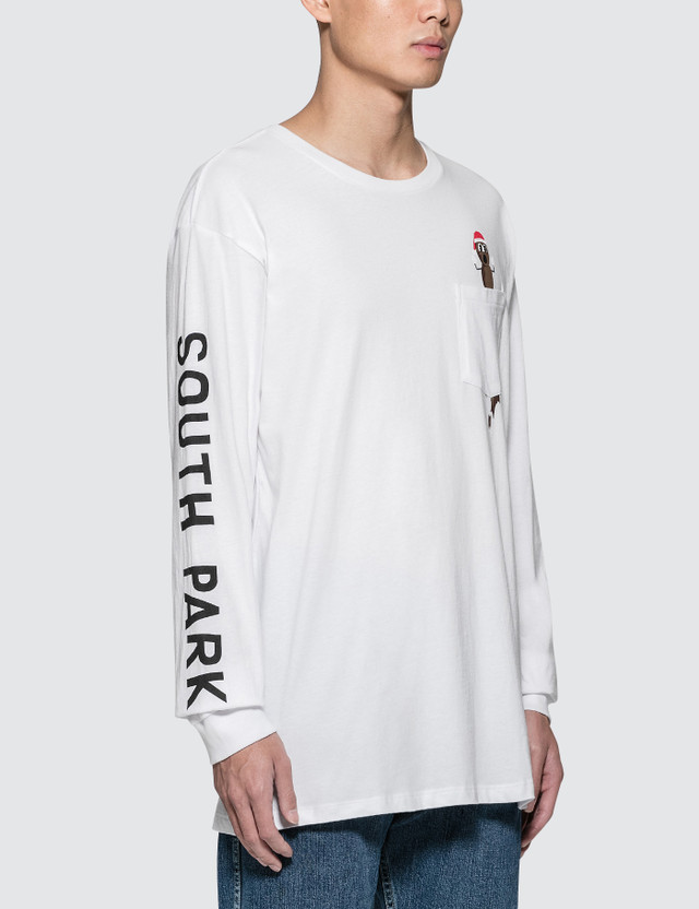 Huf South Park x Huf Mr Hanky L/S Pocket T-Shirt