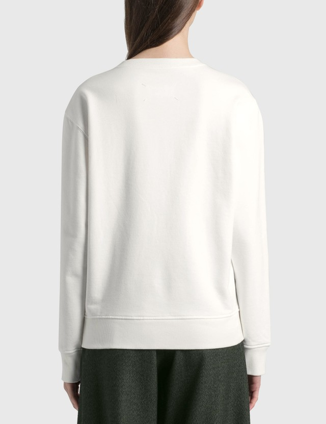 Maison Margiela Numbers Sweatshirt Off White Women