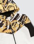 Versace Savage Barocco Motif Hoodie