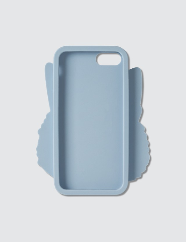 Maison Kitsune 3D Ancora Tu IPhone 8 Case Light Blue Unisex