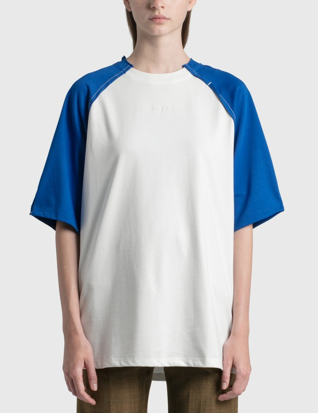 Ader Error Sciss T-Shirt Blue (blue) Women