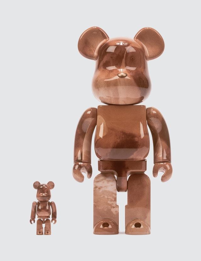 Medicom Toy Pushead #4 Be@rbrick 100% & 400% Set