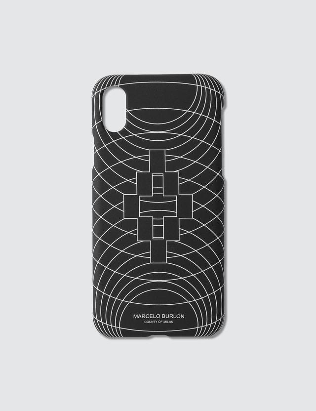 Marcelo Burlon Wireframe iPhone Xs Case