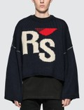 Raf Simons Cropped RS Sweater Picutre