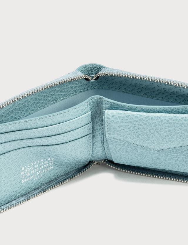Maison Margiela Grain Leather Small Zip Wallet