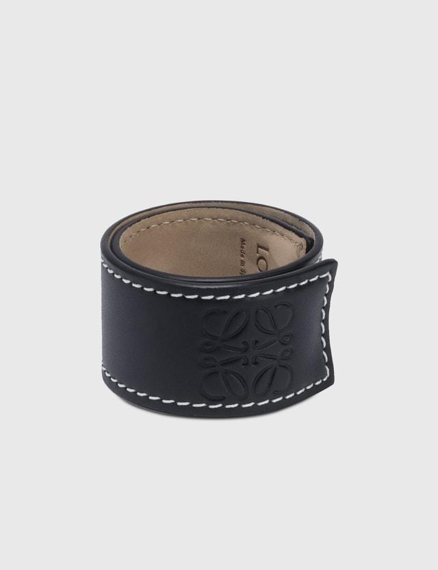 Loewe Small Slap Bracelet Black Women