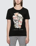 Alexander McQueen Floral Skull Print T-shirt Picture