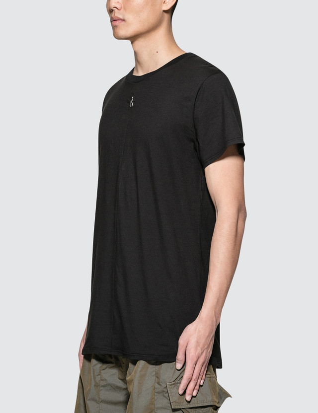 1017 ALYX 9SM S/S Jersey T-Shirt with Invisible Zipper