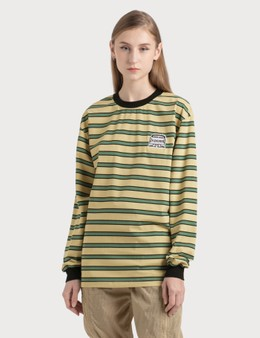Pleasures Hangman Premium Striped Long Sleeve Shirt