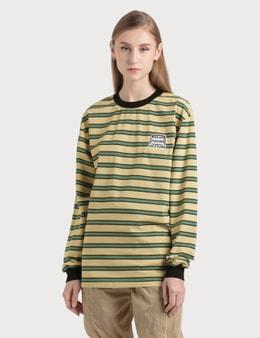 Pleasures Hangman Premium Striped Long Sleeve Shirt