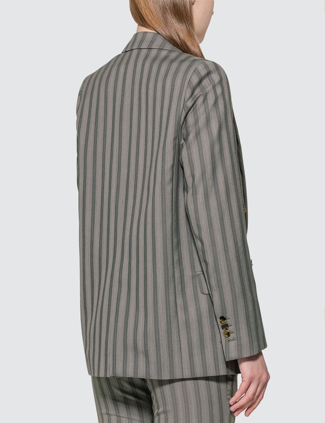 Acne Studios Double-breasted Pinstripe Jacket