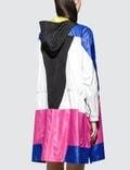 Versace Nylon Color Block Logo Capospalla Parka