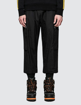 Stella McCartney Sweatpants with Ribbed Hem And Zip Details