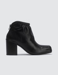 Aalto Chucky Square Leather Boots Picutre