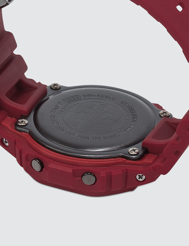 "G-Shock DW5635C ""35th Anniversary. Red Out"""
