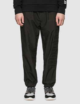 Moncler Nylon Track Pants With Embossed Logo