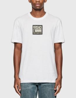 Versace L'Homme Motif T-Shirt