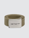 Carhartt Work In Progress Chrome Clip Belt Picture