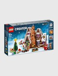 LEGO Gingerbread House Picutre