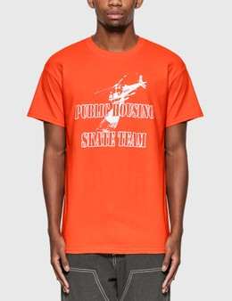 Public Housing Skate Team Helicopter T-Shirt