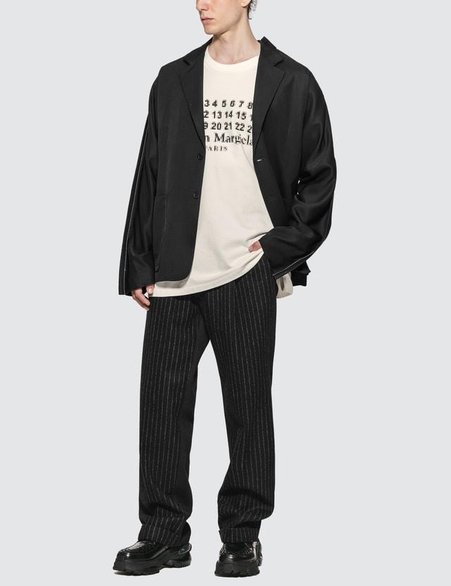 Maison Margiela Virgin Wool Stripes Pants