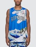 RIPNDIP Great Wave Mesh Basketball Jersey Picutre