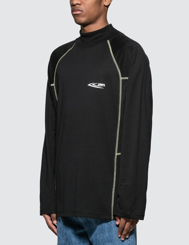 Calvin Klein 205W39NYC Blood-drop logo print S/S T-Shirt in Black