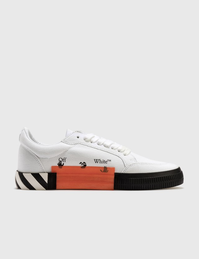 Off-White Low Vulcanized Canvas Sneakers