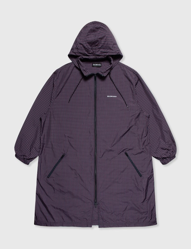 Balenciaga Balenciaga Check Jacket Purple Archives