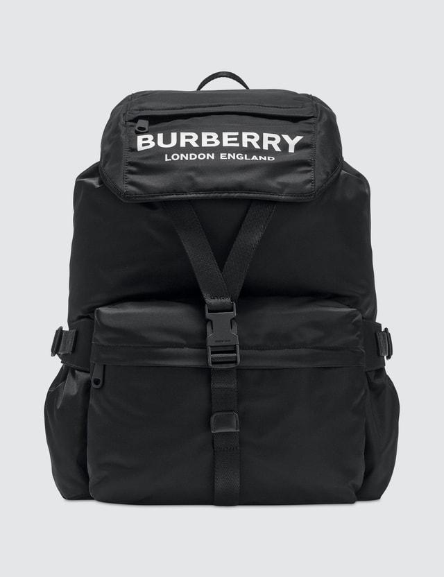 Burberry Nylon Logo Backpack