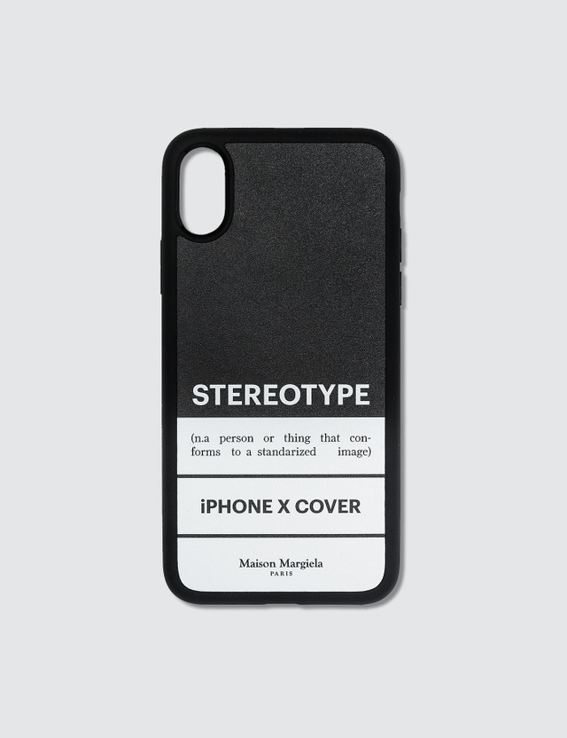 Maison Margiela Stereotype Print IPhone XS Case
