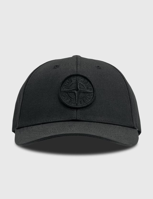 Stone Island Tonal Embroidered Logo Cap