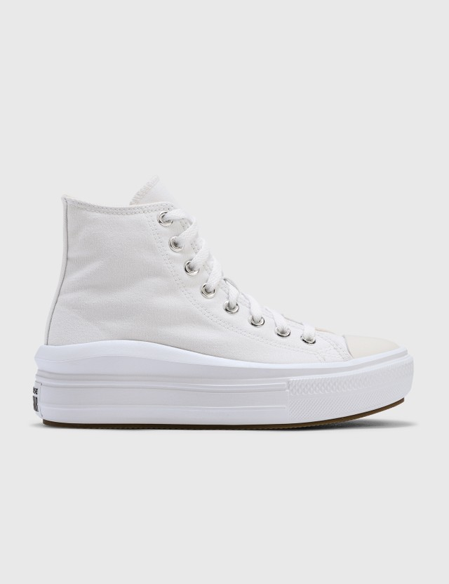 Converse Chuck Taylor All Star Move High Top White/natural Ivory/black Women