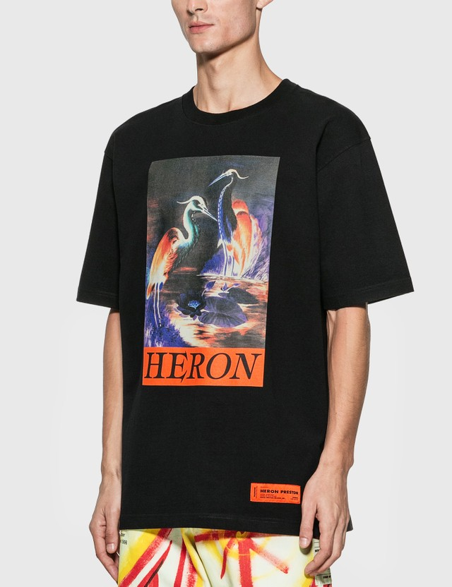 Heron Preston Times T-Shirt Black Men