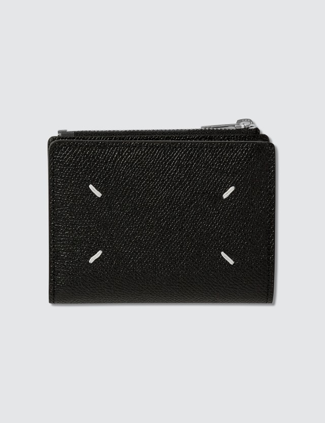 Maison Margiela Grainy Leather Fold Wallet