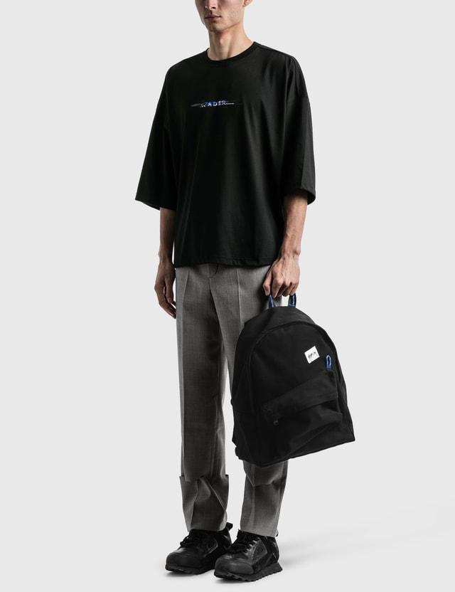 Ader Error Zigzag Backpack Black Men