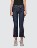 Mother Insider Crop Step Fray Jeans Picutre