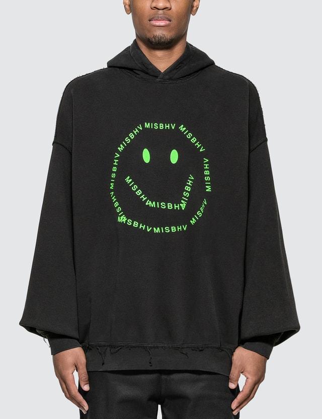 Misbhv A Smiley Logo Hoodie