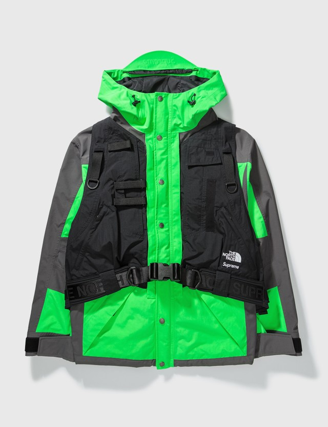 Supreme Supreme X The North Face Goretex Jacket Utility Vest Neon Green Archives