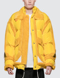 Maison Margiela Yellow Trim Show Puffer Jacket Picture