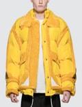 Maison Margiela Yellow Trim Show Puffer Jacket 사진