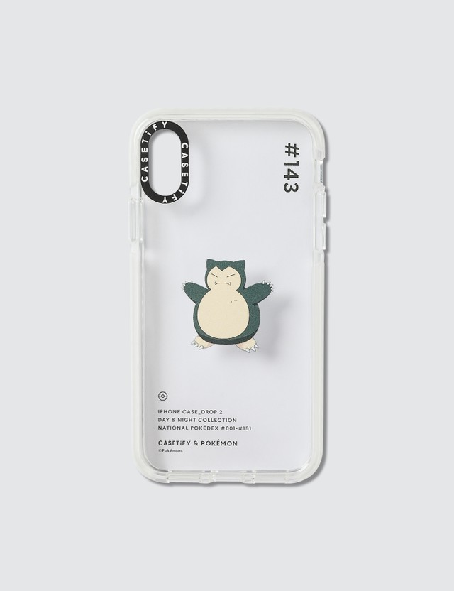 Casetify Snorlax 143 Pokédex Day Iphone X/XS Case