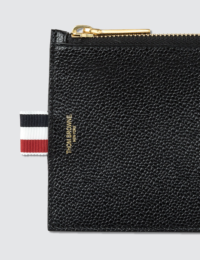 Thom Browne Pebble Grain Leather Small Coin Purse (14.5 cm)
