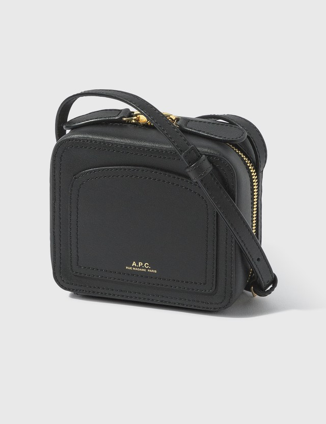 A.P.C. Mini Louisette Bag Lzz Noir Women