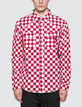 Stussy Checker Western L/S Shirt Picture