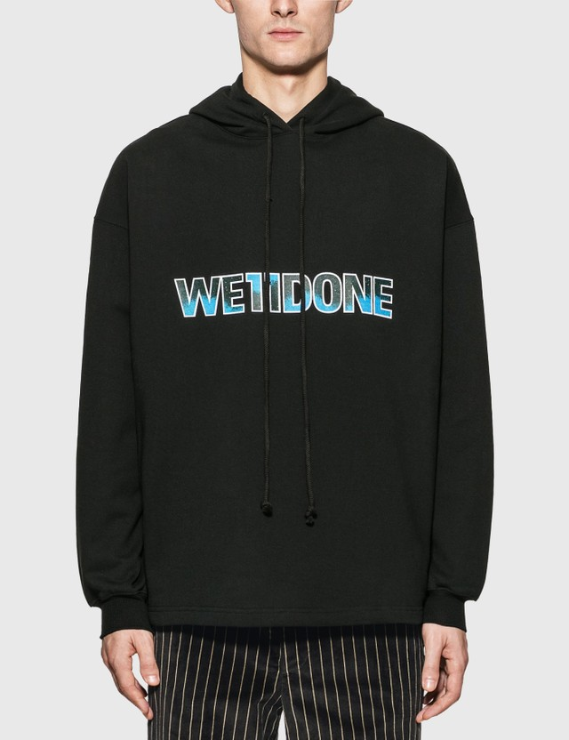 We11done New Logo Hoodie Black Men