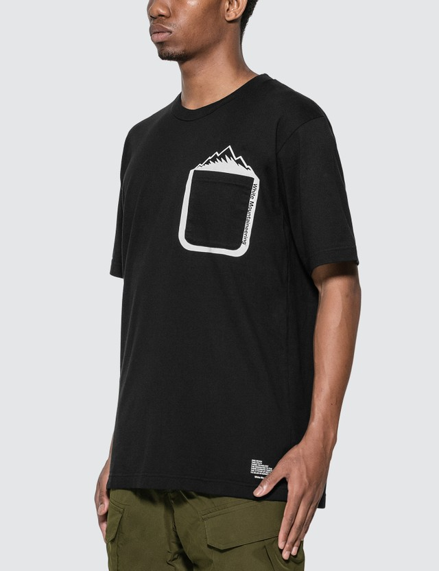 White Mountaineering Mountain Printed Pocket T-Shirt