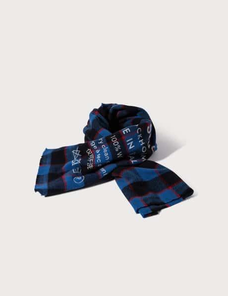아크네 스튜디오 Acne Studios Checked logo scarf